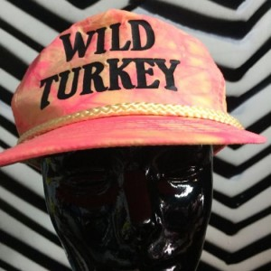 TRUCKER SNAPBACK TIEDYE HAT WILD TURKEY 1