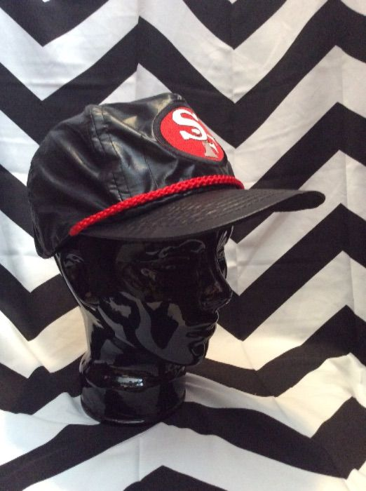 *DEADSTOCK* SNAPBACK HAT SF PATCH 3