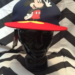 MIckey Cap Navy and Red 1
