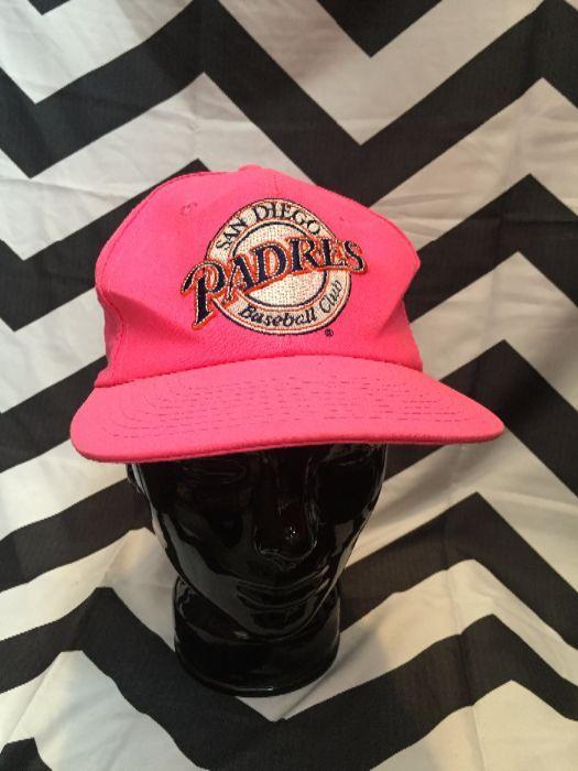 378daff51a9 SAN DIEGO PADRES BASEBALL HAT » Boardwalk Vintage