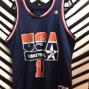 SS JERSEY USA BASKETBALL #11 K.JOHNSON 1