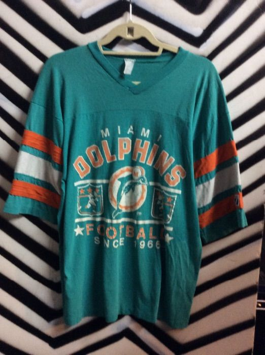 MIAMI DOLPHINS FOOTBALL JERSEY STYLE T