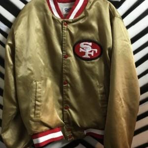 CHALK LINE SF 49ERS JACKET 1