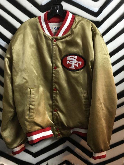 4482cde2 SAN FRANCISCO 49ERS BASEBALL STYLE JACKET