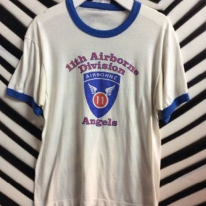 TSHIRT RINGER 11TH DIVISION ANGELS 1