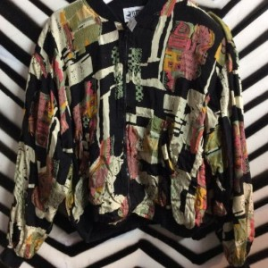CROPPED PRINTED INDIA JACKET 1
