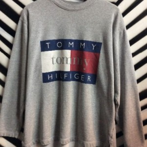 TOMMY HILLFIGER PULLOVER SWEATSHIRT MADE IN USA 1