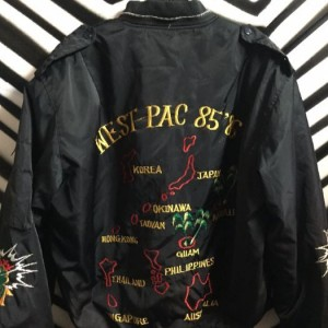 NYLON EMBROIDERED WEST PAC 85-86 JACKET 2