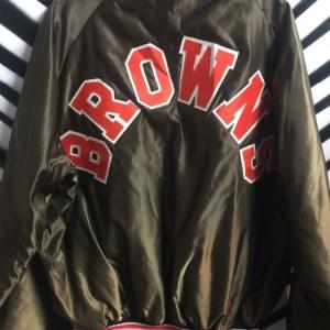 Cleveland Browns NFL Satin JACKET 1