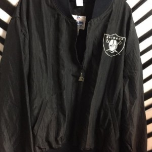 Raiders Pullover jacket half zip 1