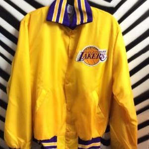 Yellow Laker Satin Jacket 1