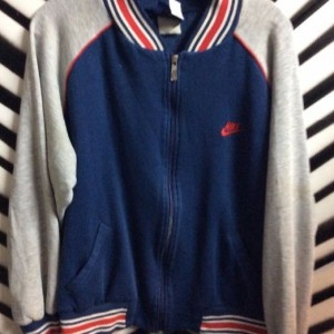 RETRO ZIPUP TRACK JACKET SWEATSHIRT as-is 1