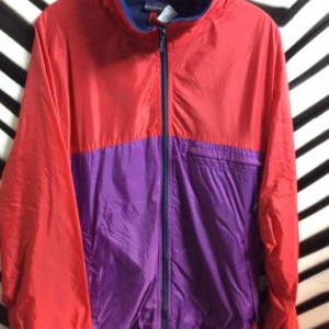 WINDBREAKER COLORBLOCK FLEECE LINED 1
