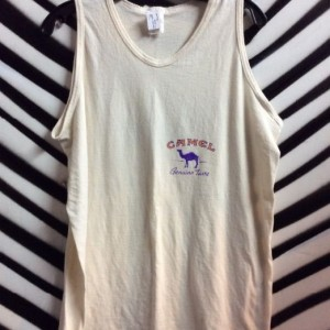 OLD SKOOL CAMEL CIGARETTES TANK TOP as-is 1