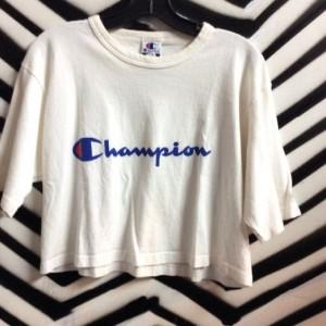 CROPPED CHAMPION SHIRT 1990S 1