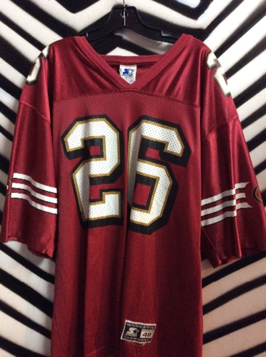 new products 5ad5f 0baa3 STARTER SF 49ERS JERSEY #26