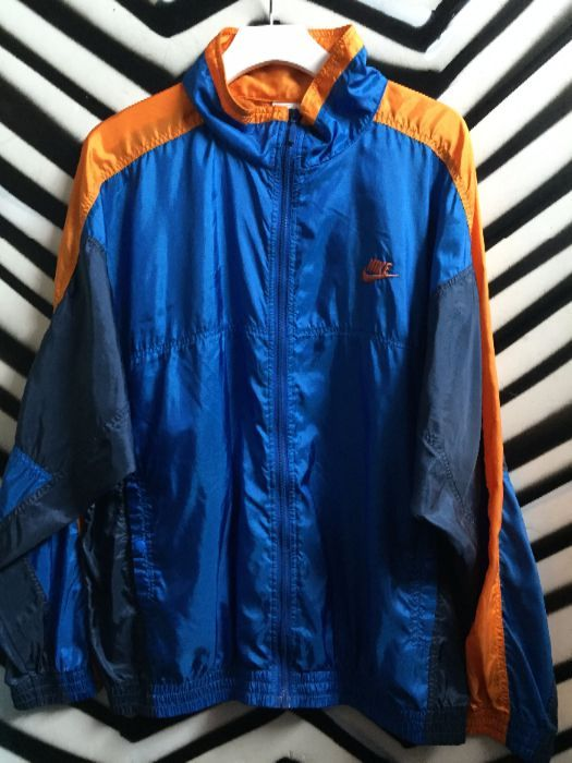 RETRO NIKE WINDBREAKER - COLOR BLOCK DESIGN » Boardwalk Vintage 3224400ed