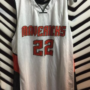Maverics basketball jersey #22 1