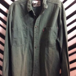 LS BD 2 POCKET SHIRT ARMY STYLE 1