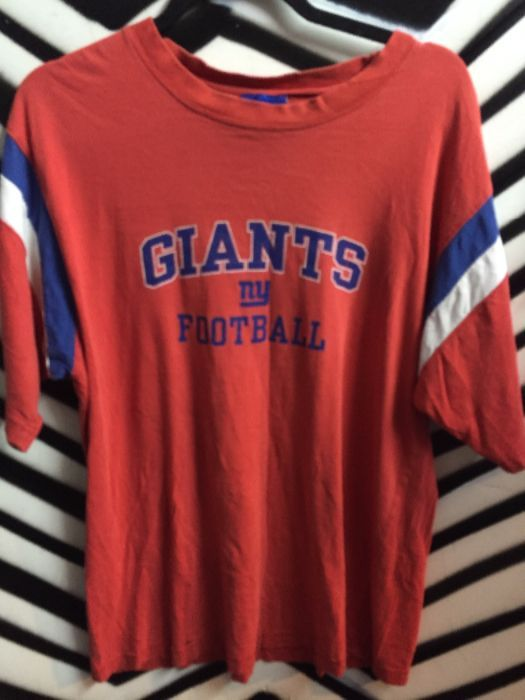 hot sale online c8681 50924 NY GIANTS JERSEY STYLE T-SHIRT