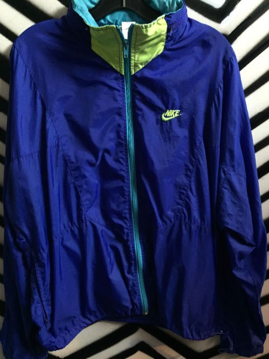 8bd473e299e5 NIKE WINDBREAKER W HOOD W COLOR BLOCK DESIGN - DAY-GLOW » Boardwalk ...