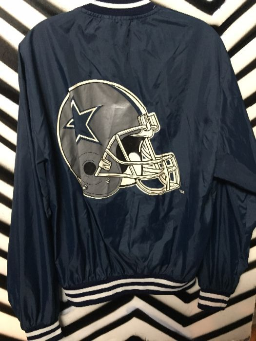 low priced a12d7 998ff DALLAS COWBOYS BASEBALL JACKET - LIGHT WEIGHT NYLON