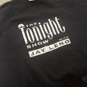 SWEATSHIRT THE TONIGHT SHOW W/ JAY LENO 1