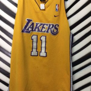 LAKERS JERSEY #11 MALONE 1