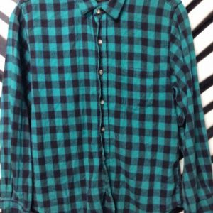 SMALL FIT CHECKERED FLANNEL 1