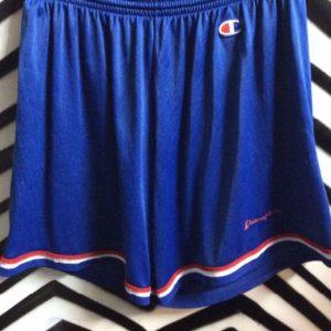 Blue RETRO Champion basketball shorts 1
