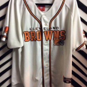 Cleveland Browns baseball cut jersey 1