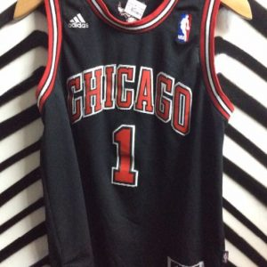CHICAGO BULLS BASKETBALL JERSEY SMALL FIT 1