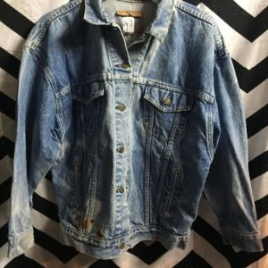 LEVIS WHITE TAB JACKET AS IS 1