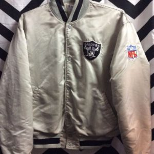SILVER RAIDERS STARTER JACKET 1