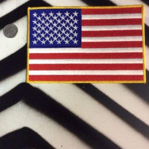 MEDIUM BACK PATCH- AMERICAN FLAG 1