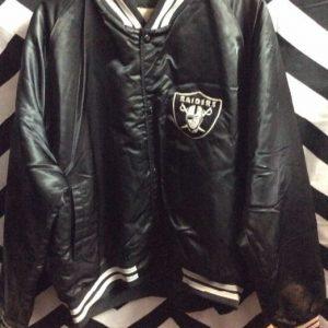 Chalkline LA Raiders jacket with letters on back 1