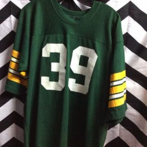 RETRO CHAMPION GREENBAY #39 GASALL FOOTBAL JERSEY 1