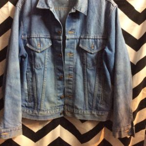 oversized BIG MAC SOFT DENIM JACKET 1