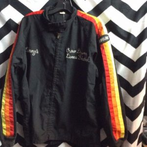 MECHANICS JACKET RAINBOW RACING STRIPES 1