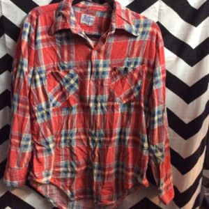 SUPER SOFTY FLANNEL SHIRT RETRO SMALL FIT 1