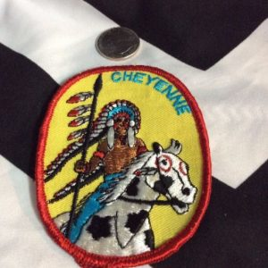 PATCH- Cheyenne Indian *old stock 1