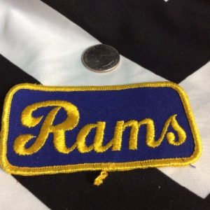 PATCH- LA Rams *old stock 1