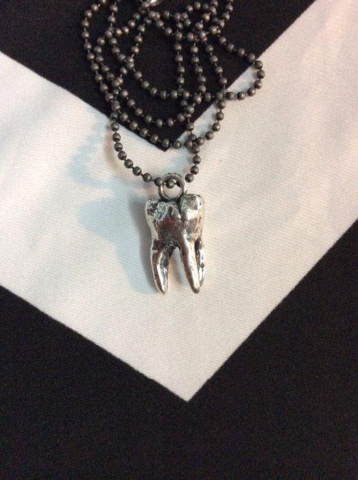 MOLAR TOOTH NECKLACE 1