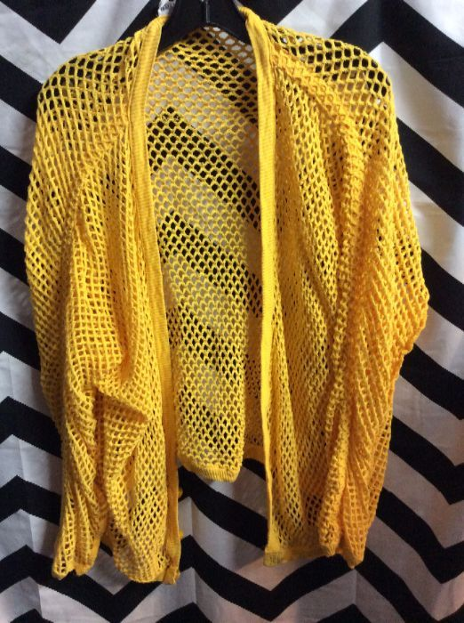 LS NETTED CARDIGAN 1