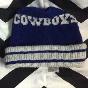 DALLAS COWBOYS BEANIE HAT 1