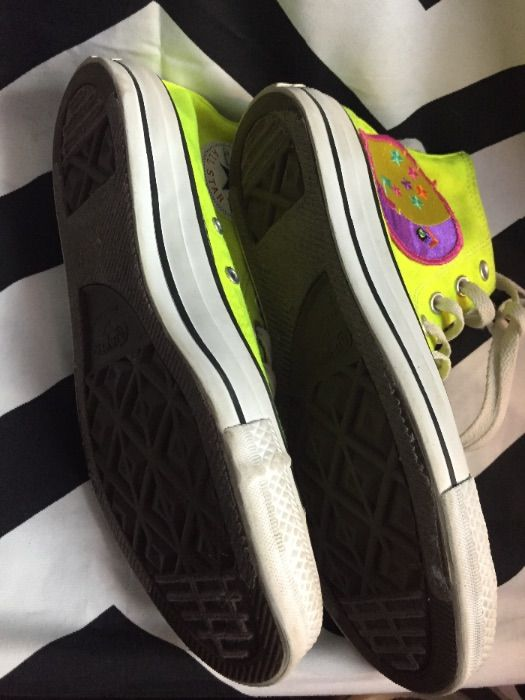 2e883710579d CONVERSE HIGH TOP SNEAKERS – CHUCK TAYLOR – NEON YELLOW » Boardwalk ...
