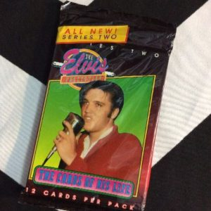 ELVIS TRADING CARDS 1