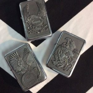 ZIPPO LIGHTER EAGLE MOTORCYCLE 1