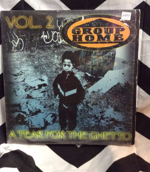 product details: VINYL RECORD - GROUP HOME - A TEAR FOR THE GHETTO photo
