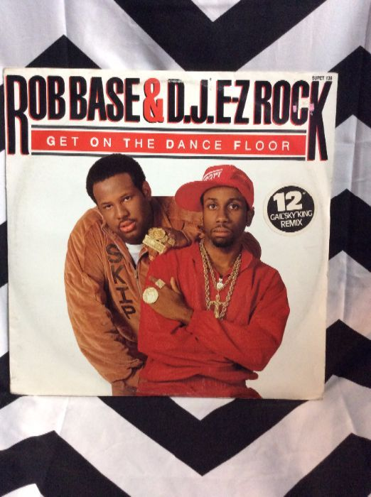 Rob Base & D.J. E-Z Rock* â??â?? Get On The Dance Floor 1